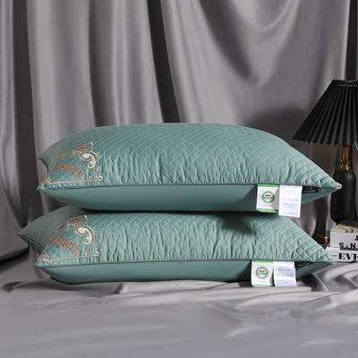 2021新款艾草防蚊枕枕头枕芯48*74 cm/个 艾草防蚊-宝石蓝