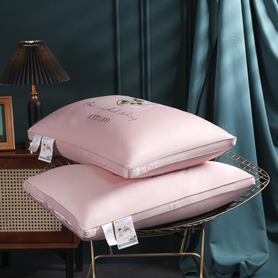 2021新款艾草草本呵护系列枕枕头枕芯48*74cm/个 本草呵护枕玉色