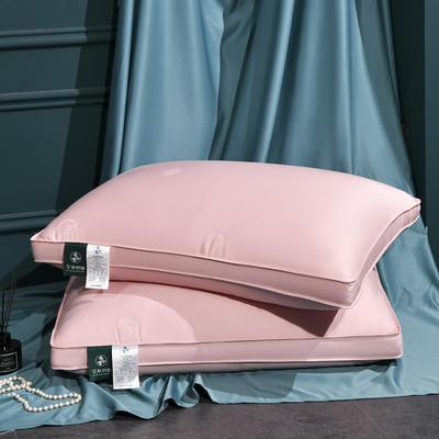 2021新款枕芯 艾草助眠枕枕头枕芯48*74 /个 艾草助眠枕粉色