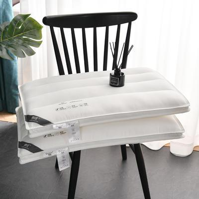 2021进口德绒柔软低枕头枕芯48*74cm/个 白色
