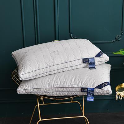 2021新款枕芯 石墨烯养护枕头枕芯48*74cm/个 灰色