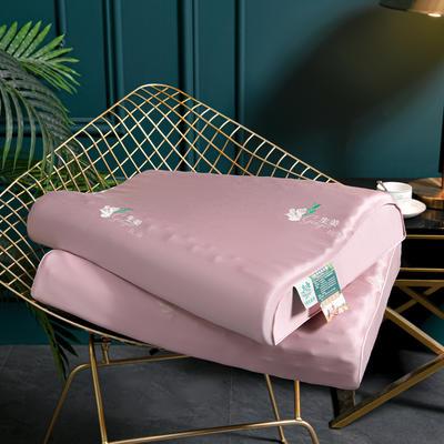 2021新款天丝乳胶枕头枕芯40*60*10  cm/个 生姜抗菌枕