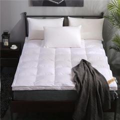 晋瑞羽绒床垫希尔顿酒店双层立体1.8m床褥子双人加厚90白鹅绒垫被 120*200 希尔顿凌空床垫