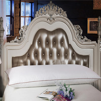 晋瑞羽绒家纺真爱双人羽绒枕正品喜来登星级酒店羽绒枕芯100%白鹅绒枕头成人特价 50*150CM