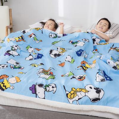 2019新款儿童羊羔绒毛毯毯子 110*150 可爱史努比