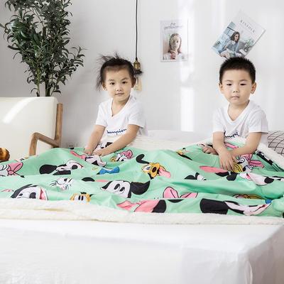 2019新款儿童羊羔绒毛毯毯子 110*150 米老鼠家族