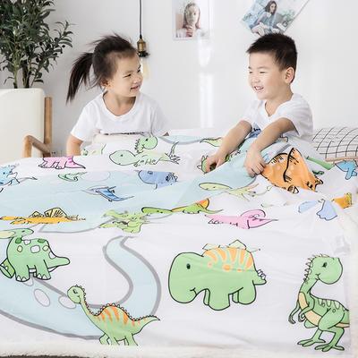 2019新款儿童羊羔绒毛毯毯子 110*150 小恐龙