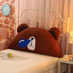 新款可爱卡通床头靠枕抱枕毛绒玩具 1.2m 鼻涕熊
