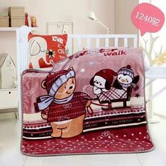 童毯-儿童云毯(1.1*1.4) 1240驼