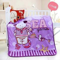 童毯-儿童云毯(1.1*1.4) 1194紫