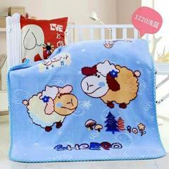 童毯-儿童云毯(1.1*1.4) 1220浅蓝