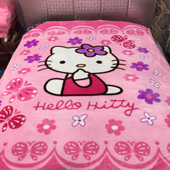 云毯-学生毯 1.5*2.0 KT猫-粉