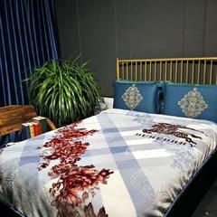 婚庆毛毯 舒适保暖拉舍尔云毯 200cmx230cm 1373银灰