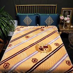 婚庆毛毯 舒适保暖拉舍尔云毯 200cmx230cm 1378肉驼