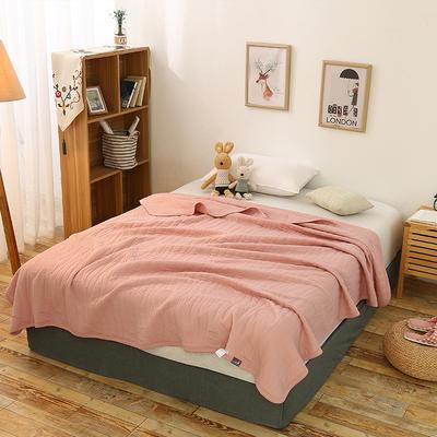 全棉针织一体夏被系列 150x200cm 浪漫粉