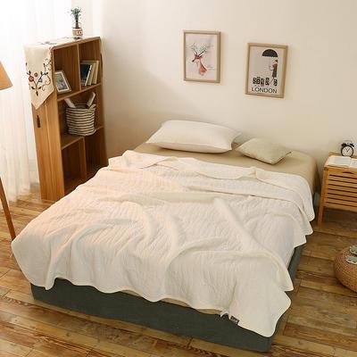 全棉针织一体夏被系列 150x200cm 乳白色