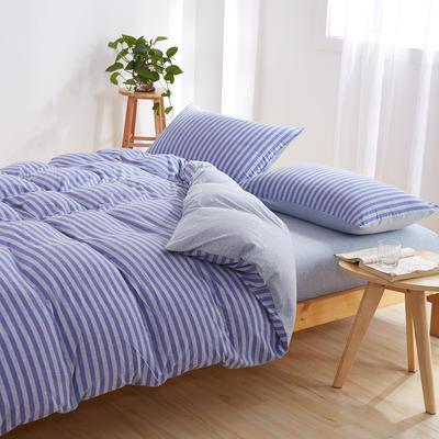 针织棉四件套 小小号床单款1.2m(4英尺)床 普罗旺斯800