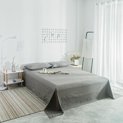 2018新款-单品纯色床单 1.8*2.3m 冷灰