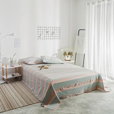 2018新款-单品花色床单 1.8*2.3m 清新条纹