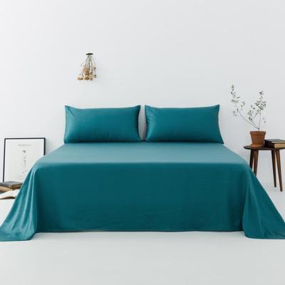 2019新款-天丝单品床单 160*230cm 翠青--床单