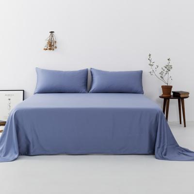 2019新款-天丝单品床单 160*230cm 神话蓝--床单