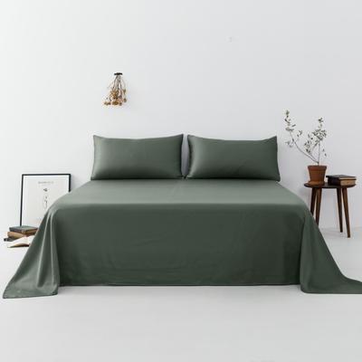 2019新款-天丝单品床单 160*230cm 松绿--床单