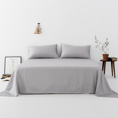 2019新款-天丝单品床单 160*230cm 烟灰--床单