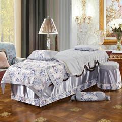 美容床罩  繁花似锦 (通用) 80*190cm 灰色