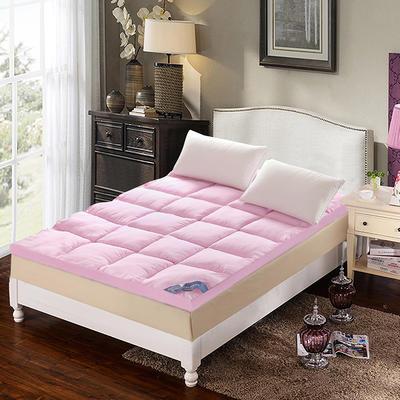 羽丝绒立体床垫 0.9m 粉色