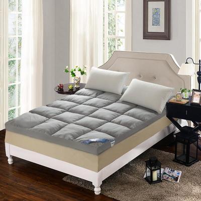 羽丝绒立体床垫 0.9m 灰色