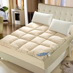 羽丝绒立体床垫 1.2m 驼色