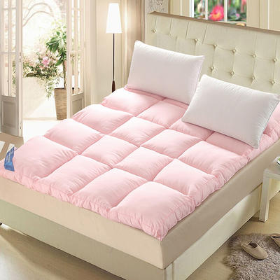 羽丝绒立体床垫 0.9m 玉色
