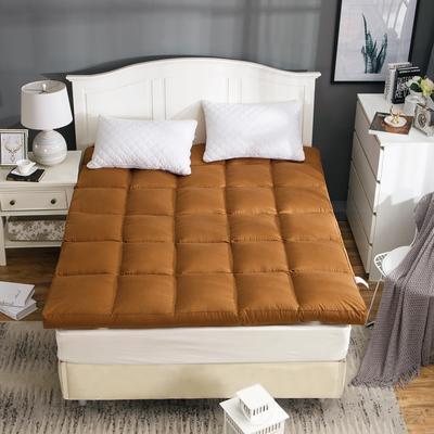 2019新款-立体充绒款床垫 0.9m 4咖啡