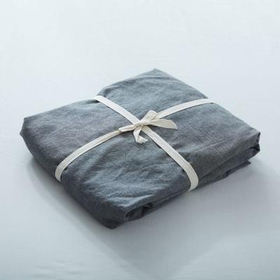 水洗棉单品(纯色系列)-床笠 120cmx200cm 深灰