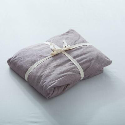 水洗棉单品(纯色系列)-床笠 120cmx200cm 豆沙