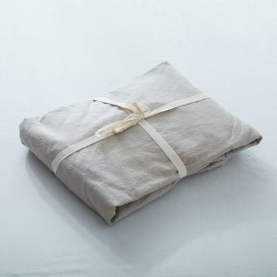 水洗棉单品(纯色系列)-床笠 120cmx200cm 卡其