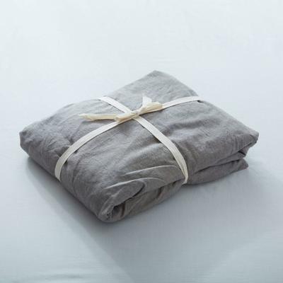 水洗棉单品(纯色系列)-床笠 120cmx200cm 浅灰