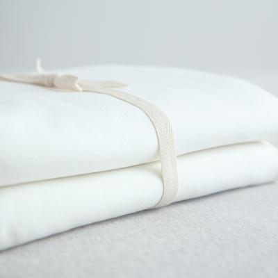 水洗棉单品(纯色系列)-被套 150x200cm 素白纯色