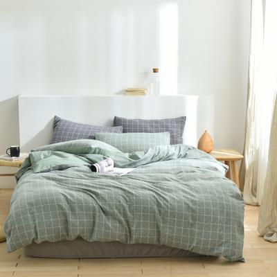 2020新款-段彩四件套 床单款三件套1.2m(4英尺)床 2