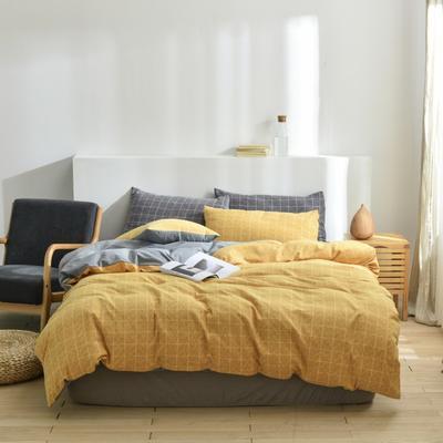 2020新款-段彩四件套 床单款三件套1.2m(4英尺)床 4