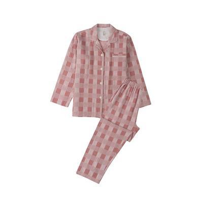 2021新款-星空格 长袖长裤系列 L码 星空格-粉
