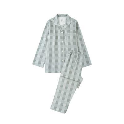 2021新款-星空格 长袖长裤系列 L码 星空格-绿