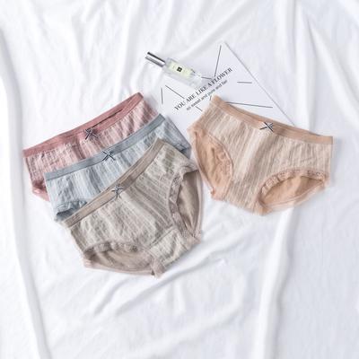 2021新款-女士均码抗菌内裤 XL 一组四条