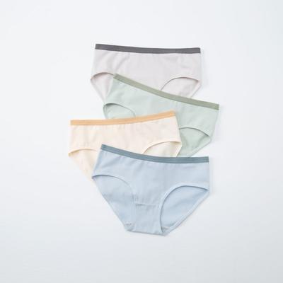 2021新款-新款女士全棉内裤 XL 一组四条