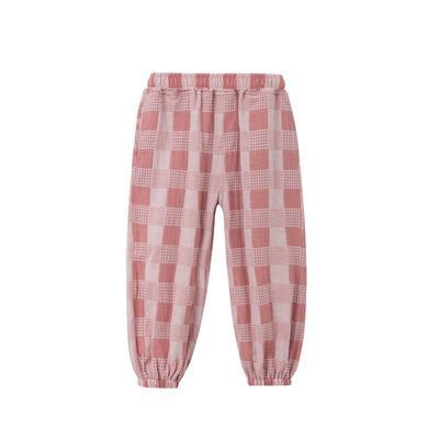 2021新款-儿童防蚊裤 110 粉红