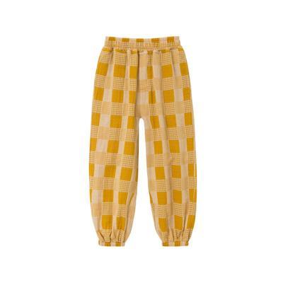 2021新款-儿童防蚊裤 100 黄色