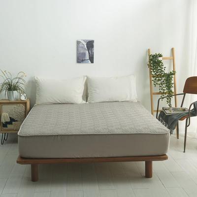 2021新款-夹棉床笠-6色 1.2*2.0+32 浅灰