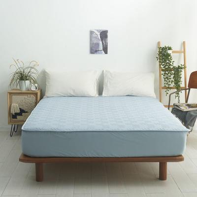 2021新款-夹棉床笠-6色 1.2*2.0+32 浅蓝