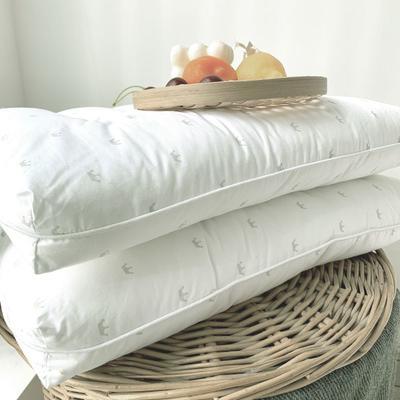 2021新款-日式超低枕芯 白色