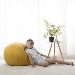 懒人沙发 小号(直径35cm) 黄色